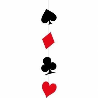 Hangdecoratie casino kaarten